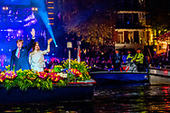 5-5-2017 AMSTERDAM - King Willem-Alexander, Queen Maxima and Prime Minister Rutte will attend the 5th May concert in Amsterdam on the occasion of the closing of the National Celebration Liberation. The concert takes place traditionally on and around the Amstel for Royal Theater Carr&eacute;. COPYRIGHT ROBIN UTRECHT<br /> <br /> 5-5-2017 AMSTERDAM - burgemeester Eberhard van der laan Koning Willem-Alexander,  Koningin Maxima en minister-president Rutte  wonen 's avonds in Amsterdam het 5 mei-concert bij ter gelegenheid van de afsluiting van de Nationale Viering Bevrijding. Het concert vindt traditiegetrouw plaats op en rond de Amstel voor Koninklijk Theater Carr&eacute;. COPYRIGHT ROBIN UTRECHT