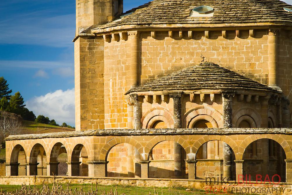 Church of Saint Mary of Eunate.<br /> Muruzabal, Navarre, Spain.