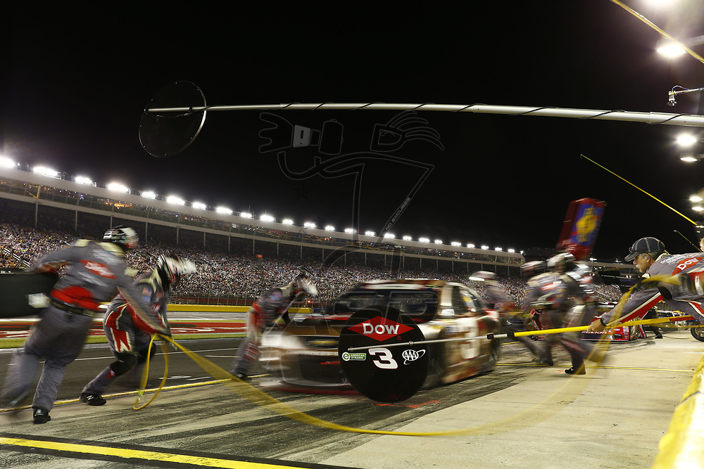 May 28, 2017 - Concord, NC, USA: Austin Dillon (3) comes down pit road for service during the Coca Cola 600 at Charlotte Motor Speedway in Concord, NC.