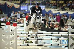 Marschall Marcel, (GER), Fenia van Klapscheut<br /> Champion von München<br />  Jumping München 2015<br /> © Hippo Foto - Stefan Lafrentz