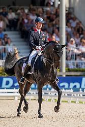 Hester Carl, GBR, Hawtins Delicato<br /> European Championship Dressage<br /> Rotterdam 2019<br /> © Hippo Foto - Dirk Caremans