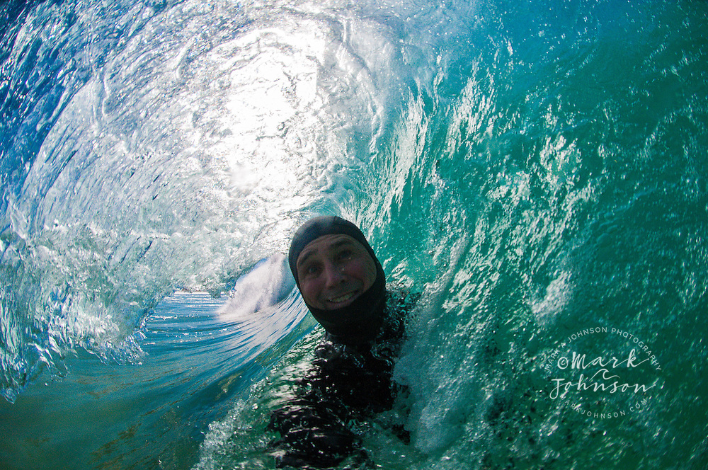 Water Photographer self-portrait, Gold Coast, Queensland, Australia