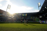 FUSSBALL 1. BUNDESLIGA 2011/2012: SV Werder Bremen - FC Augsburg