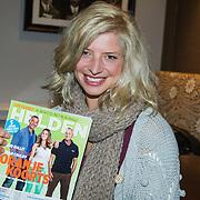 NLD/Amsterdam/20140507 - Presentatie Helden Magazine nr. 22, rugbyster Tessa Veldhuis