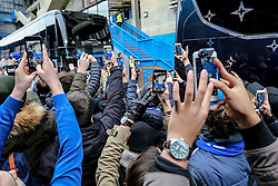 Chelsea fans gather around to catch a glimpse of the Chelsea players as they arrive on their mobile phones - Mandatory by-line: Jason Brown/JMP - 31/12/2016 - FOOTBALL - Stamford Bridge - London, England - Chelsea v Stoke City - Premier League