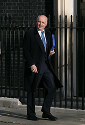 Secretary of State for Work and Pensions Iain Duncan Smith of the United Kingdom arrives for the cabinet meeting at 10 Downing Street, London, United Kingdom. Tuesday, 8th April 2014. Picture by Daniel Leal-Olivas / i-Images