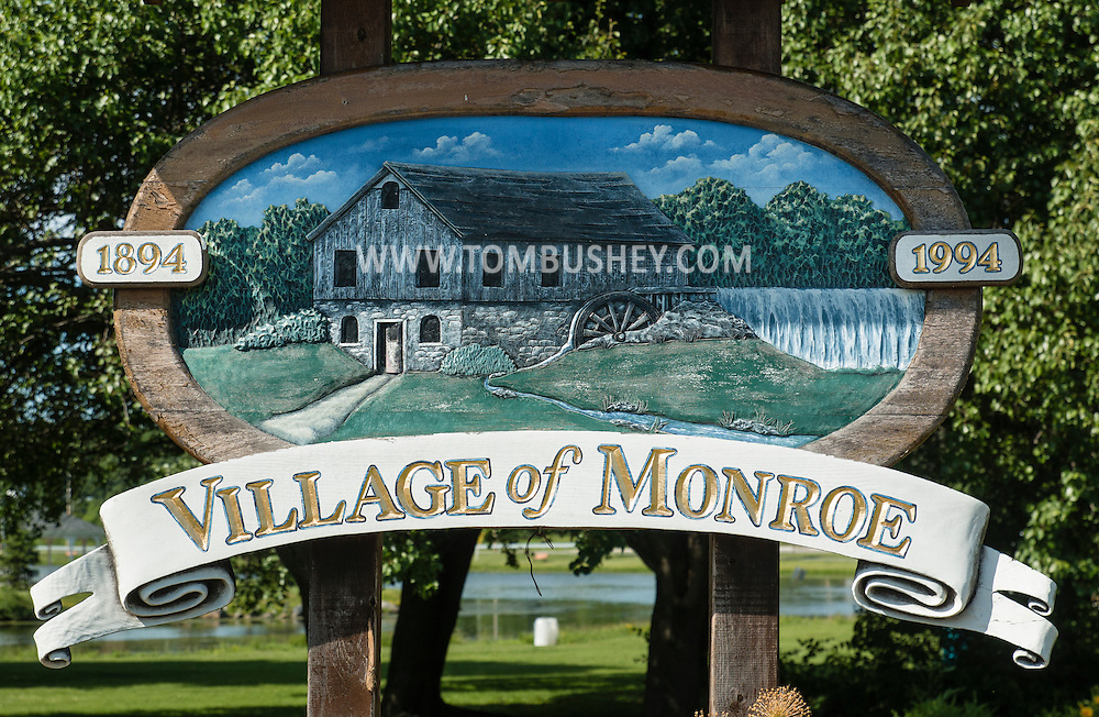 Monroe, New York - Monroe scenes on June 13, 2015.