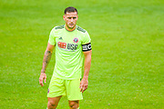 Sheffield United Billy Sharp (10) in action during the Pre-Season Friendly match between Barnsley and Sheffield United at Oakwell, Barnsley, England on 27 July 2019.