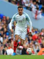 England's Dele Alli - Mandatory byline: Matt McNulty/JMP - 07966386802 - 22/05/2016 - FOOTBALL - Etihad Stadium -Manchester,England - England v Turkey - International Friendly