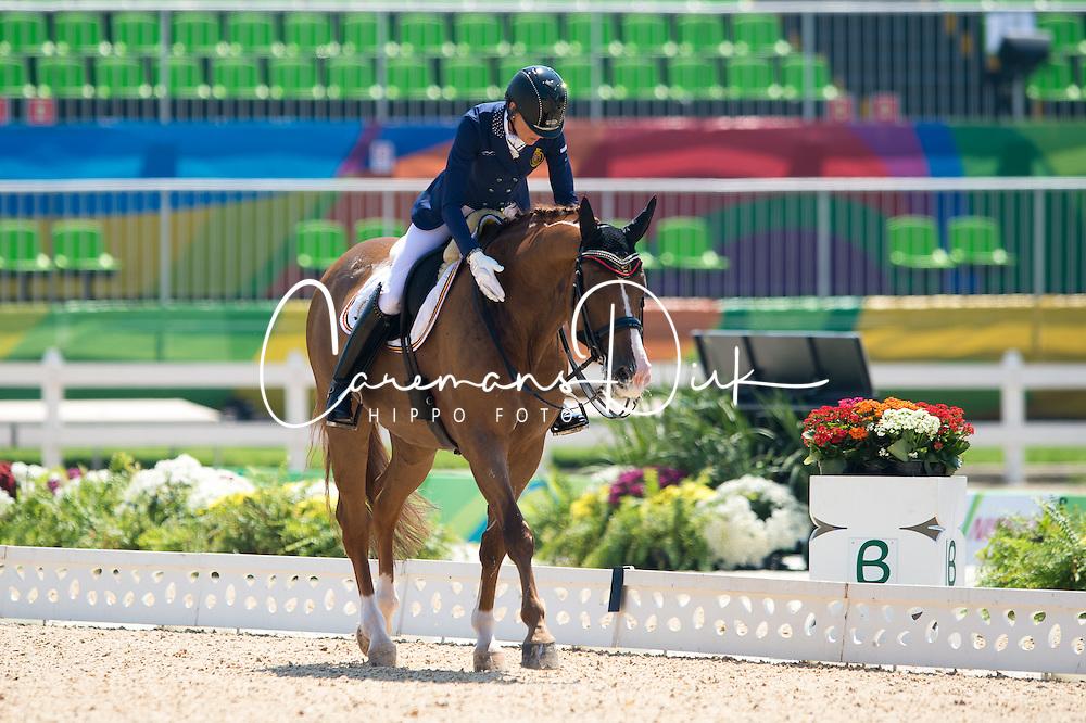 George Michele, BEL, FBW Rainman<br /> Team Test Grade Ia <br /> Rio 2016 Paralympic Games<br /> © Hippo Foto - Jon Stroud