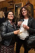 SOPHIA TRUMAN; CHARLOTTE WALTERS, Tatler and Dubarry host an evening with Clare Balding, Dubarry of Ireland, 34 Duke of York's Sq. London. 13 October 2016.