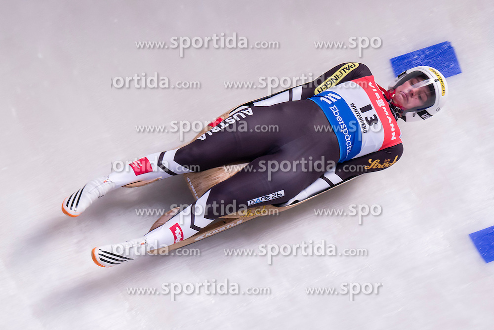 26.11.2016, Winterberg, GER, Viessmann Rennrodel Weltcup, Winterberg, Damen, Einsitzer, im Bild Birgit Platzer AUT // during women's single seater of Viessmann Luge World Cup. Winterberg, Germany on 2016/11/26. EXPA Pictures &copy; 2016, PhotoCredit: EXPA/ Rolf Kosecki<br /> <br /> *****ATTENTION - OUT of GER*****