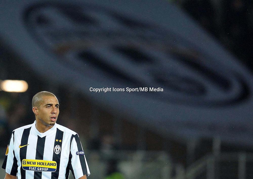 David TREZEGUET - 25.02.2010 - Juventus / Ajax Amsterdam  - 16eme de Finale Europa League 2009/2010 Photo : Aldo Liverani / Icon Sport