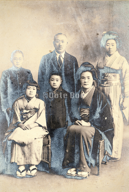 family group portrait Japan 1932