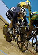 New Zealand's Nathan Seddon rides in the Men's Keirin on day three of the XVIII Commonwealth Games, at the Multi Purpose Arena, Melbourne, Australia, Friday, March 17 2006. Photo: Sport the Library / www.photosport.nz