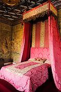 Five Queen's Bedroom, Chateau de Chenonceau, Chenonceaux, Loire Valley, France