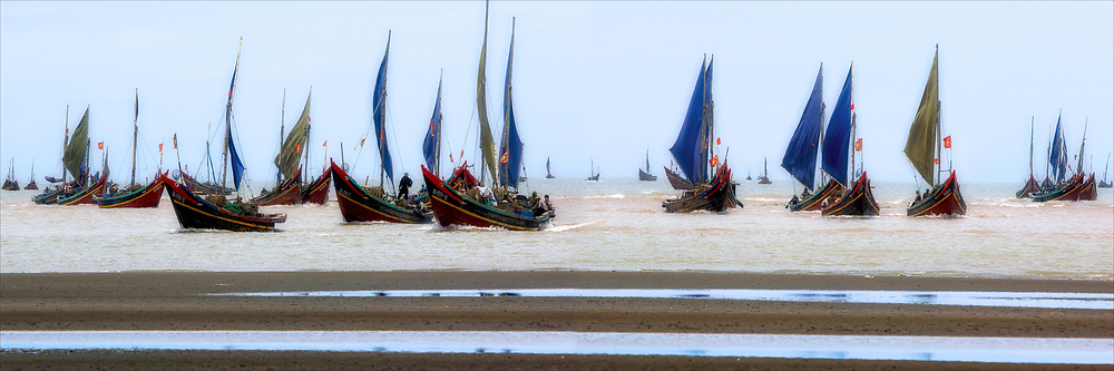 Vietnam Images-panorama landscape-seashore-Nghe An