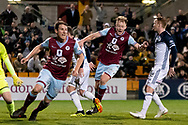 SYDNEY, AUSTRALIA - AUGUST 21: APIA Leichhardt Tigers defender Nathan Milgate (2) celebrates his goal at the FFA Cup Round 16 soccer match between APIA Leichhardt Tigers FC and Melbourne Victory at Leichhardt Oval in Sydney on August 21, 2018. (Photo by Speed Media/Icon Sportswire)