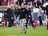 Fussball  1. Bundesliga / 2. Bundesliga  Saison 2018/2019  Relegation Hinspiel VfB Stuttgart - Union Berlin      23.05.2019 Trainer Nico Willig (VfB Stuttgart) enttaeuscht ----DFL regulations prohibit any use of photographs as image sequences and/or quasi-video.----