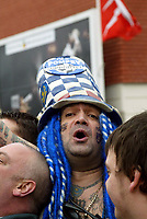 Fotball<br /> FA-cup 2005<br /> Southampton v Portsmouth<br /> 29. januar 2005<br /> Foto: Digitalsport<br /> NORWAY ONLY<br /> Portsmouth fan John Portsmouth City Football Club Westwood who changed his name, arrives at St Marys for the FA cup tie
