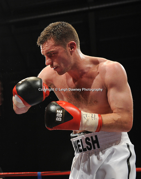 Martin Welsh defeated by Brian Rose for the English Light Middleweight title at Medway Park, Gillingham, Kent, UK on 13th May 2011. Frank Maloney Promotions. Photo credit © Leigh Dawney 2011.