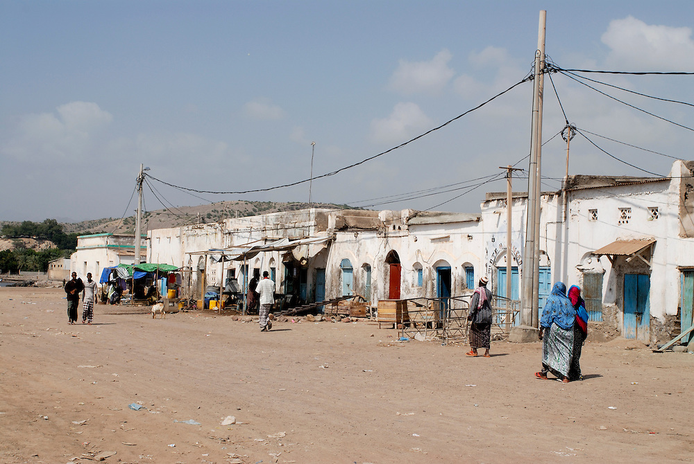 Shops in Tadjoura,Djibouti