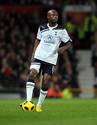 William Gallas during the Barclays Premier League match between Manchester United and Tottenham Hotspur at Old Trafford on October 30, 2010 in Manchester, England.