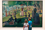 CHICAGO, MUSEUMS AND ARTISTS Art Institute of Chicago Seurat 'Sunday Afternoon on the Island La Grande Jatte'