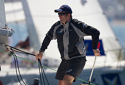 Ben Ainslie from TEAM ORIGIN in action in the quarter Finals in the Match race France , Marseille,France 10 April 2010 Photo: Brendon O'Hagan/Subzero images Ben Ainslie (UK) Team Origin in action  during   his  quarter Final with Philippe Presti (fra)   ,in  Marseille,France 10 April 2010 Photo: Brendon O'Hagan/Subzero images