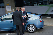 MICHAEL GOVE, Ark- Absolute Return for Kids. Fundraiser at Waterloo Euroster terminal. London. 13 May 2010. -DO NOT ARCHIVE-© Copyright Photograph by Dafydd Jones. 248 Clapham Rd. London SW9 0PZ. Tel 0207 820 0771. www.dafjones.com.