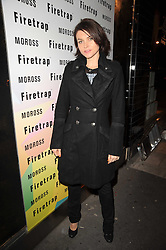 HOLLY DAVIDSON at a party to celebrate the Firetrap Watches and Kate Moross Collaboration Launch, held at Firetrap, 21 Earlham Street, London, UK on 13th October 2010.