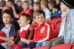 Bristol City fans look on - Mandatory byline: Dougie Allward/JMP - 07966 386802 - 03/10/2015 - FOOTBALL - Ashton Gate - Bristol, England - Bristol City v MK Dons - Sky Bet Championship
