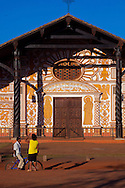 Facade of the church of Conception.