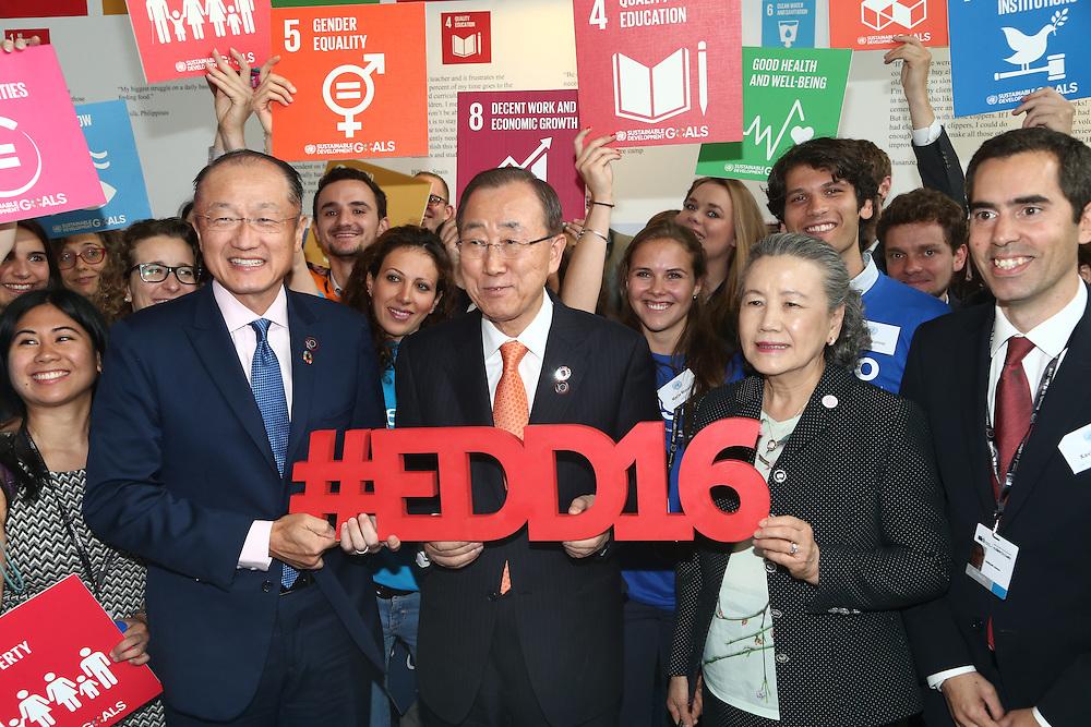 20160615 - Brussels , Belgium - 2016 June 15th - European Development Days - #EDD16 - Ban Ki-Moon - Secretary General, United Nations © European Union