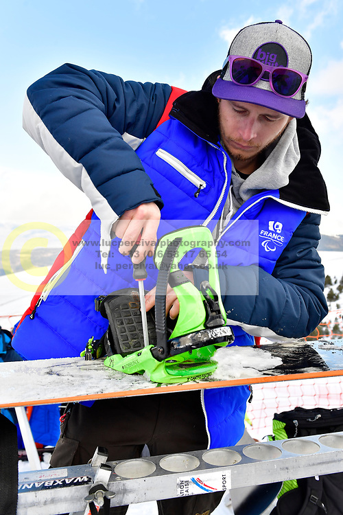 Behind the scenes, Banked Slalom at the WPSB_2019 Para Snowboard World Cup, La Molina, Spain