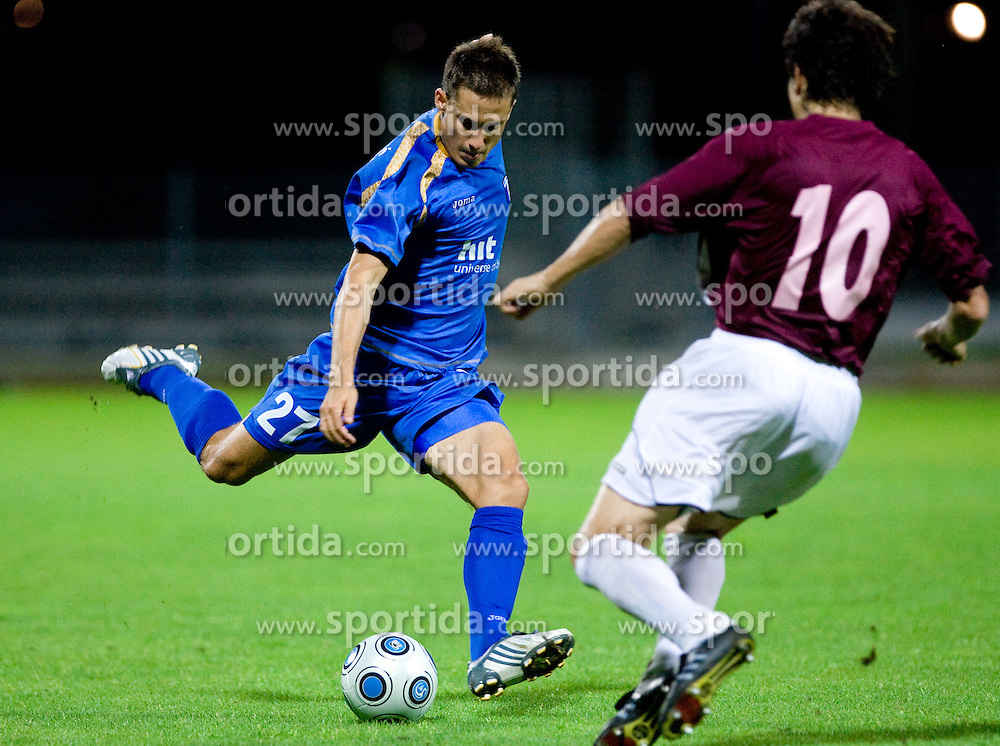 Goran Cvijanovic of Gorica at 1st football match of 2nd preliminary Round of UEFA Europe League between ND Gorica and FC Lahti, on July 16 2009, in Nova Gorica, Slovenia. (Photo by Vid Ponikvar / Sportida)