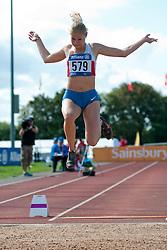 GONCHAROVA Margarita, 2014 IPC European Athletics Championships, Swansea, Wales, United Kingdom