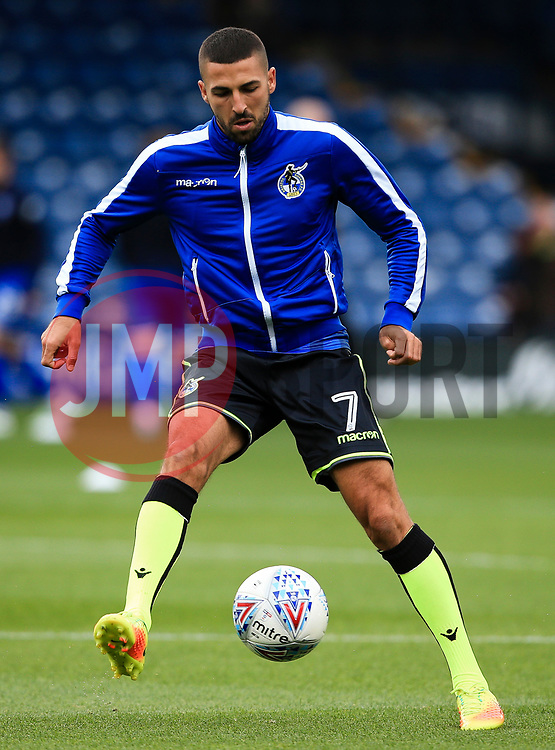 Liam Sercombe of Bristol Rovers warms up - Mandatory by-line: Matt McNulty/JMP - 19/08/2017 - FOOTBALL - Gigg Lane - Bury, England - Bury v Bristol Rovers - Sky Bet League One