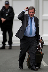 © Licensed to London News Pictures. 05/10/2011. Manchester, UK. Oliver Letwin arrives at the Conservative Party Conference on the morning of 5th August 2011. Photo credit : Joel Goodman/LNP
