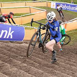 11-01-2020: Wielrennen: NK Veldrijden: Rucphen<br />Isa Looienga