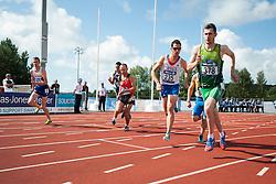 MILLER Dean, MEUNIER Basile, RADIUS Louis, MCKILLOP Michael, 2014 IPC European Athletics Championships, Swansea, Wales, United Kingdom