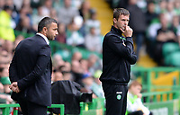29/07/15 UEFA CHAMPIONS LEAGUE 3RD RND QUALIFIER 1ST LEG<br /> CELTIC v QARABAG FK<br /> CELTIC PARK - GLASGOW<br /> Celtic manager Ronny Deila