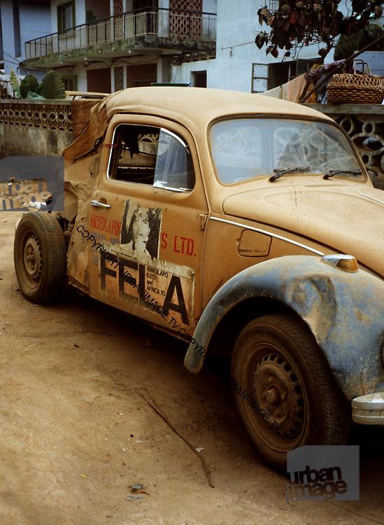 Fela Kuti's Car - Lagos
