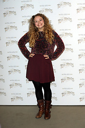 CARRIE-HOPE FLETCHER attends launch of Musical Version of The War of the Worlds, London, United Kingdom. Friday, 28th February 2014. Picture by Nils Jorgensen / i-Images