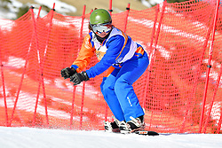 FINA PAREDES Arstrid, SB-LL2, ESP, Snowboard Cross at the WPSB_2019 Para Snowboard World Cup, La Molina, Spain