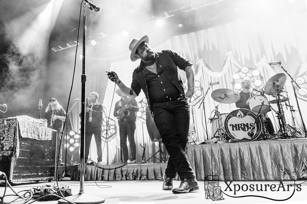 Nathaniel Rateliff and the Night Sweats perform at the Fox Theater in Oakland, CA