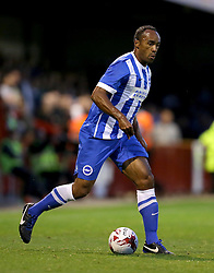 Chris O'Grady of Brighton and Hove Albion - Mandatory by-line: Paul Terry/JMP - 22/07/2015 - SPORT - FOOTBALL - Crawley,England - Broadfield Stadium - Crawley Town v Brighton and Hove Albion - Pre-Season Friendly