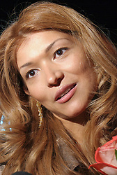 July 28, 2017 - Uzbekistan - July 28, 2017. - Gulnara Karimova, the daughter of the former president of Uzbekistan, has been charged with six counts of crime. The charges against Karimova are based on the evidence gathered in the case, including the testimonies by members of an organized group, witnesses, victims, and materials of probes into the work of 14 firms and 16 offshore companies controlled by the organized group, seized written and physical evidence, and expert findings. The Tashkent region's court for criminal cases on August 21, 2015 found Karimova guilty of the charges and sentenced her to five years of freedom restriction. In picture: Gulnara Karimova  (Credit Image: © Russian Look via ZUMA Wire)