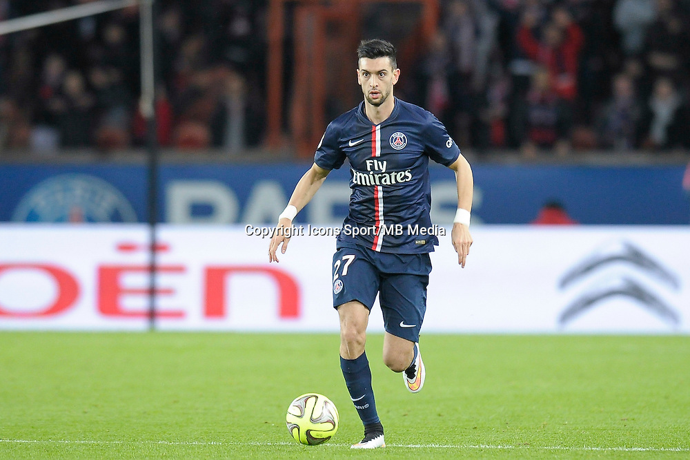 Javier Pastore - 06.12.2014 - PSG / Nantes - 17eme journee de Ligue 1<br />