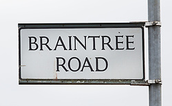 © Licensed to London News Pictures. 26/09/2016. London, UK.  Briantree Road, Dagenham is closed after a man was fatally stabbed. Police were called to to a disturbance in Braintree Road on Sunday evening 25th September 2016 where officers found a man in his thirties suffering from stab wounds. He died at the scene a short while later. A murder investigation has been launched. Photo credit: Peter Macdiarmid/LNP